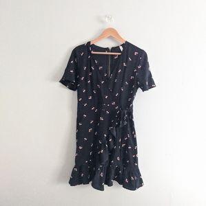 Xhilaration Cherry Print Mini Dress
